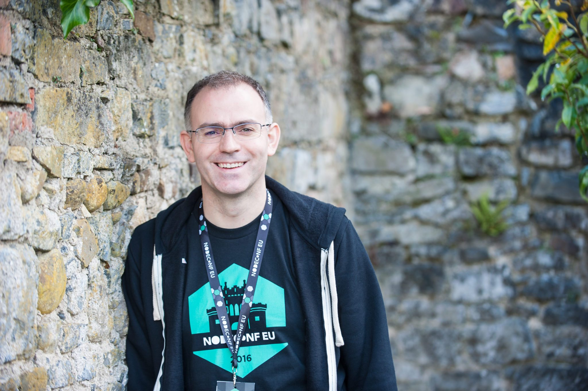 Paul Savage at NodeConf EU