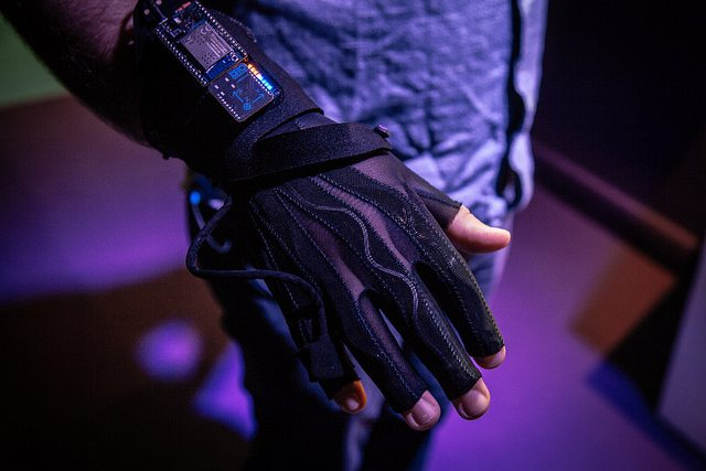 wearable instruments at the Science Gallery Dublin