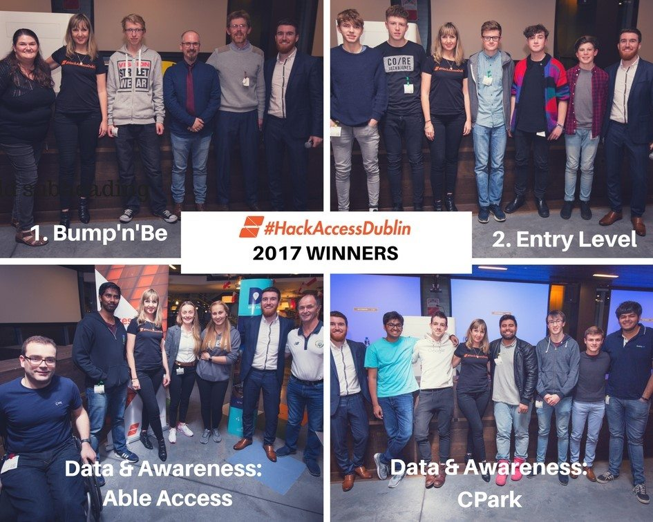 Hack Access Dublin Winners